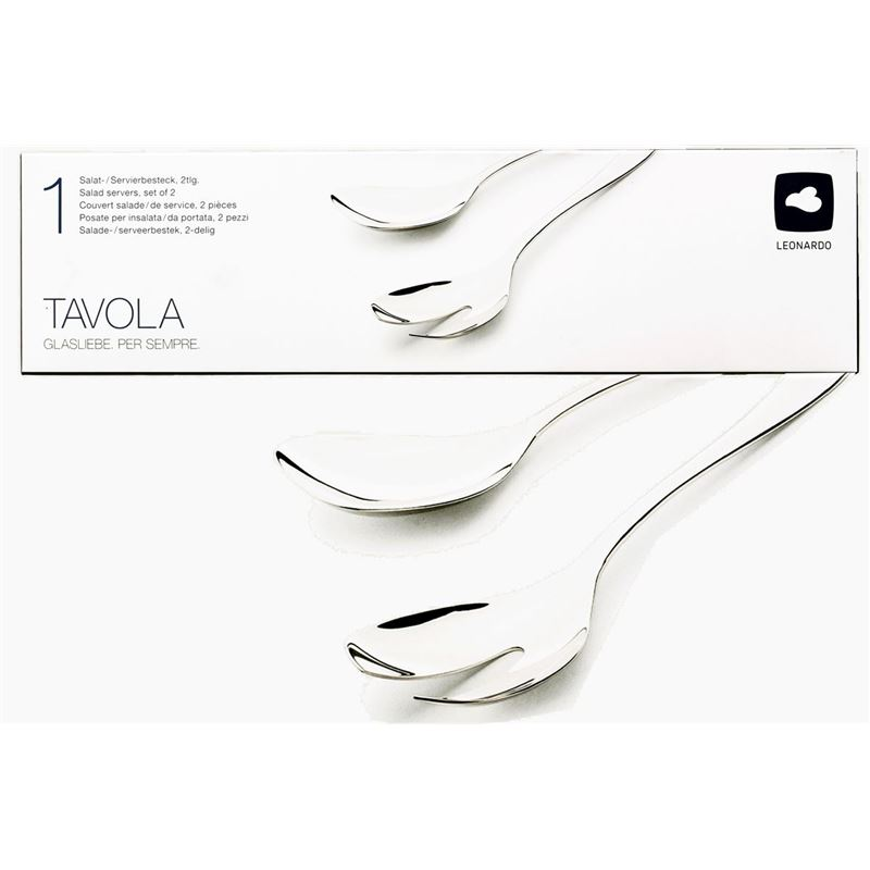 Leonardo – Tavola 18/10 Stainless Steel Salad Servers Set of 2