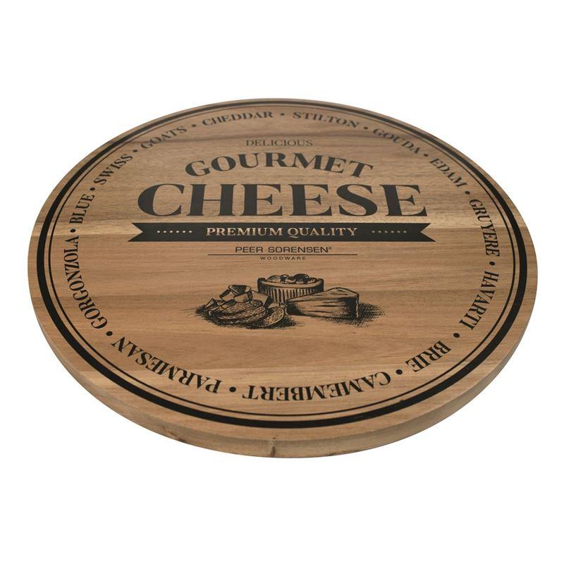 Peer Sorensen – Acacia Round Cheese Serving Board 40cm