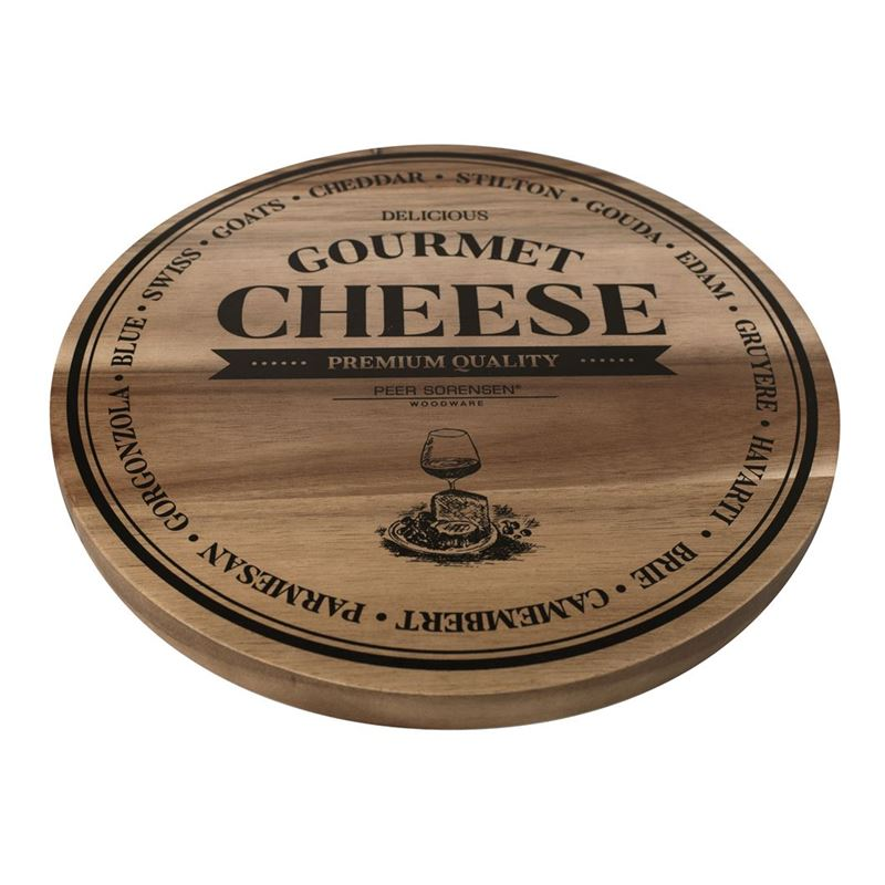 Peer Sorensen – Acacia Round Cheese Serving Board 28cm