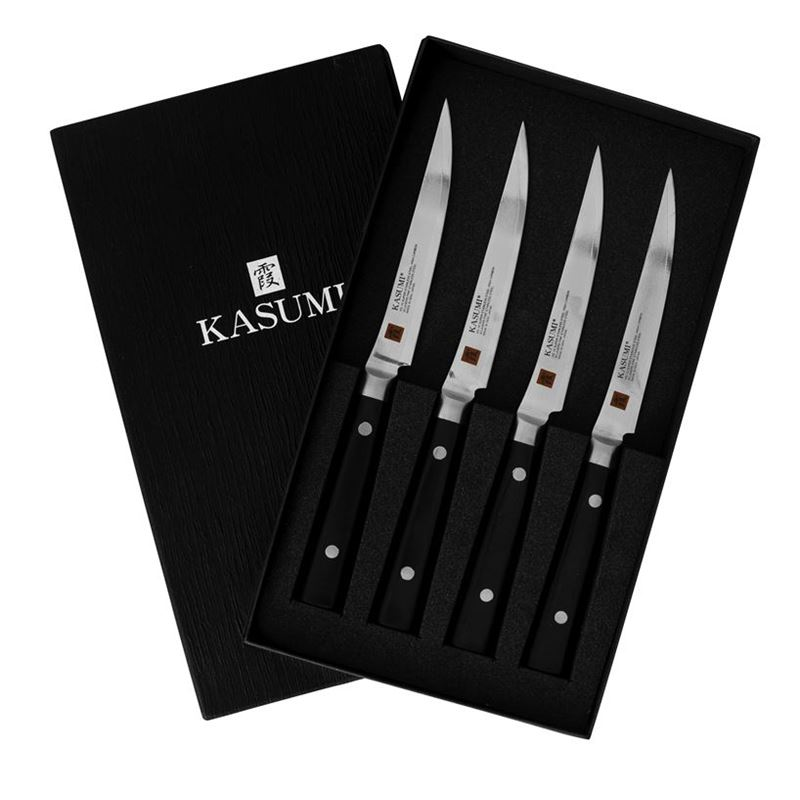 Kasumi – 4pc Steak Knife 12cm Set (Made in Japan)