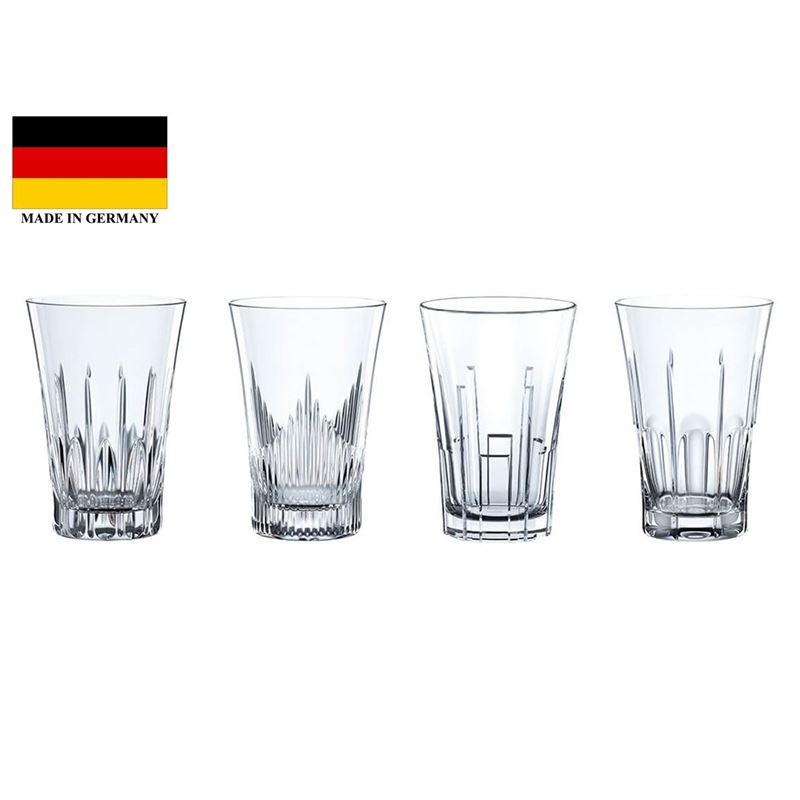 Nachtmann Crystal – Classix Whisky 344ml Set of 4 (Made in Germany)