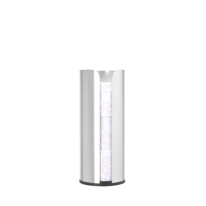 Brabantia – ReNew Toilet Roll Dispenser Matt Steel