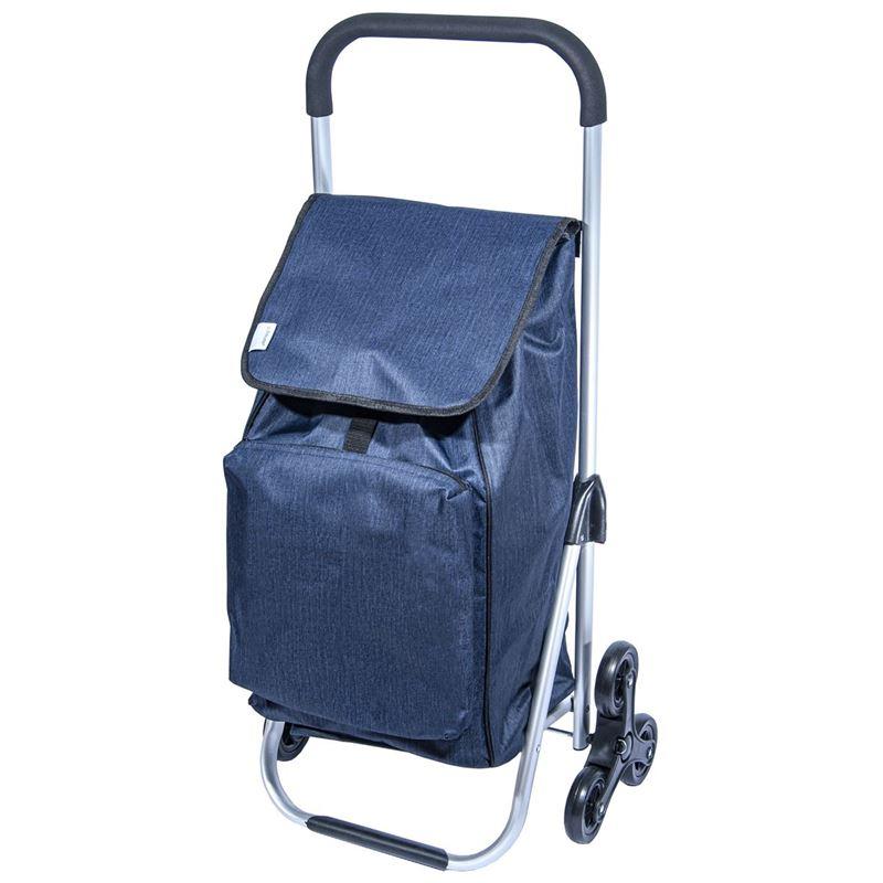 Zuhause – Kool Premier Shopping Trolley 47x33x97cm Midnight Blue