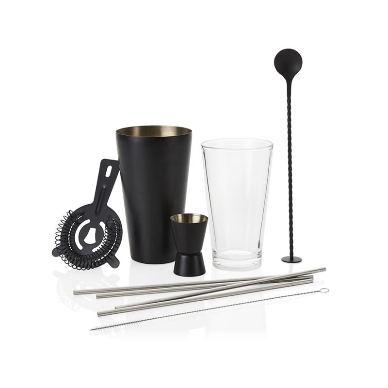 Stanley Rogers – Black Cocktail 10pc Set
