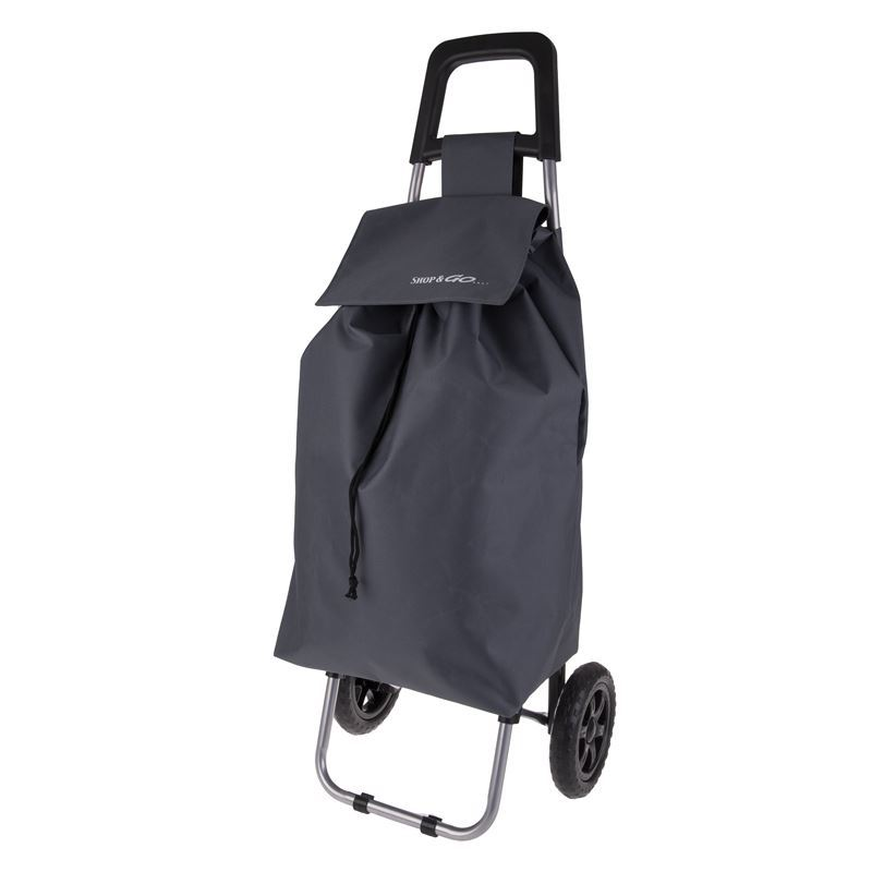 Shop & Go – Clio Shopping Trolley Charcoal Grey