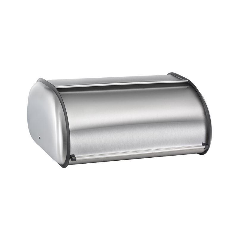 Polder – Deluxe Bread Bin 43x28x18cm Brushed Steel