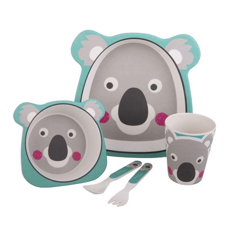 Bambeco – Bamboo Kids Meal Set Koala