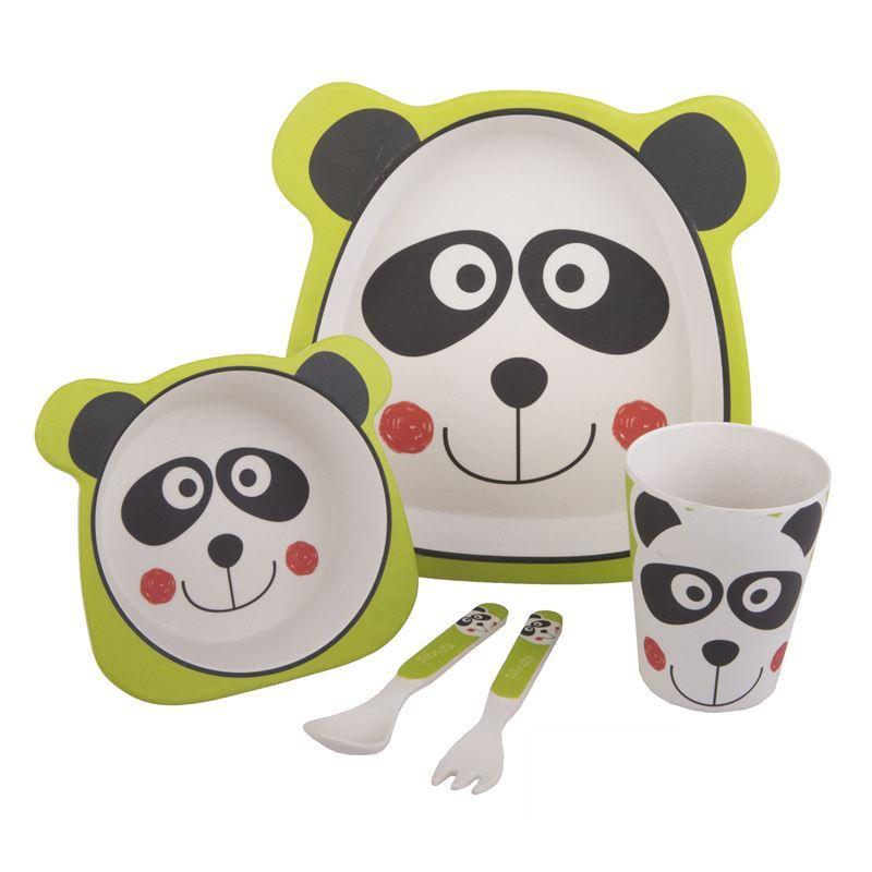Bambeco – Bamboo Kids Meal Set Panda