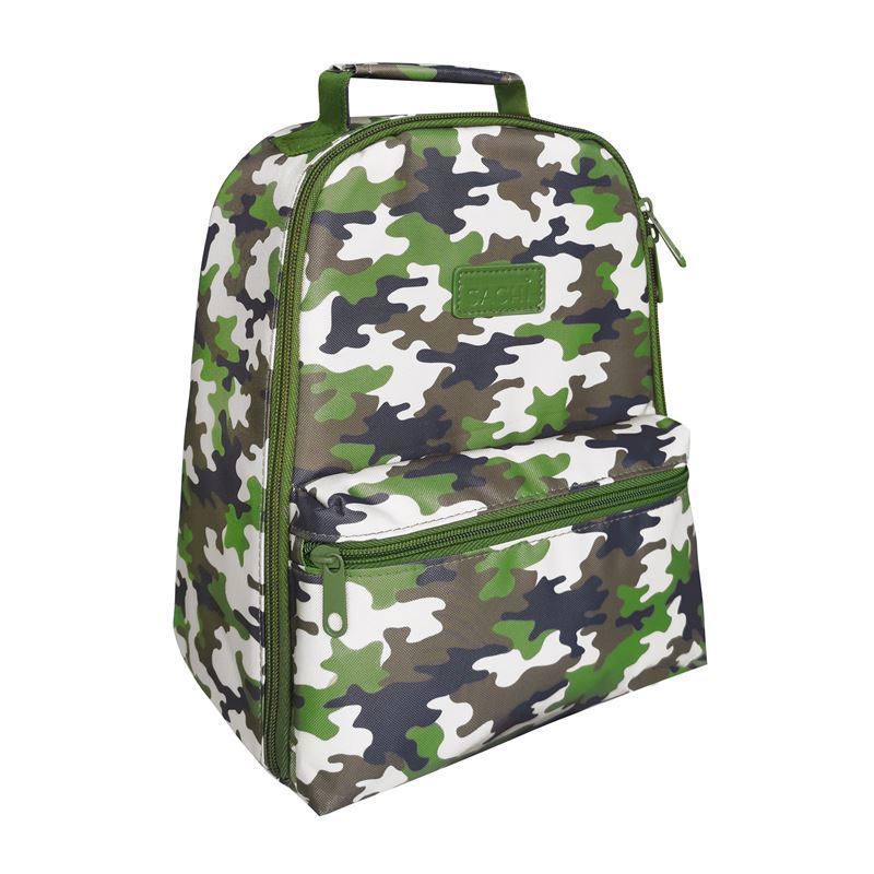Sachi – Style 227 Insulated Lunch Backpack Camo Green