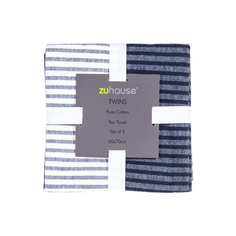 Zuhause – Twins Pure Cotton Set of 2 Tea Towels 50x70cm