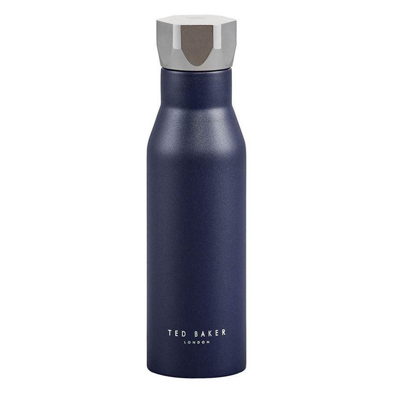 Ted Baker – Water Bottle Hexagonal Lid 425ml Navy