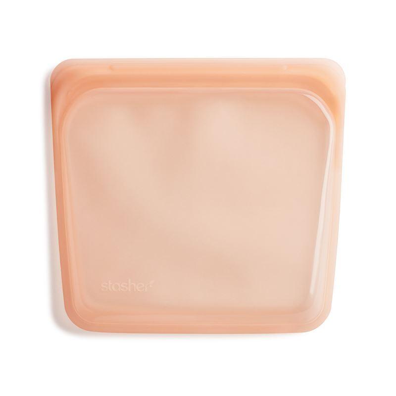 Stasher – Sandwich Bag 450ml Papaya