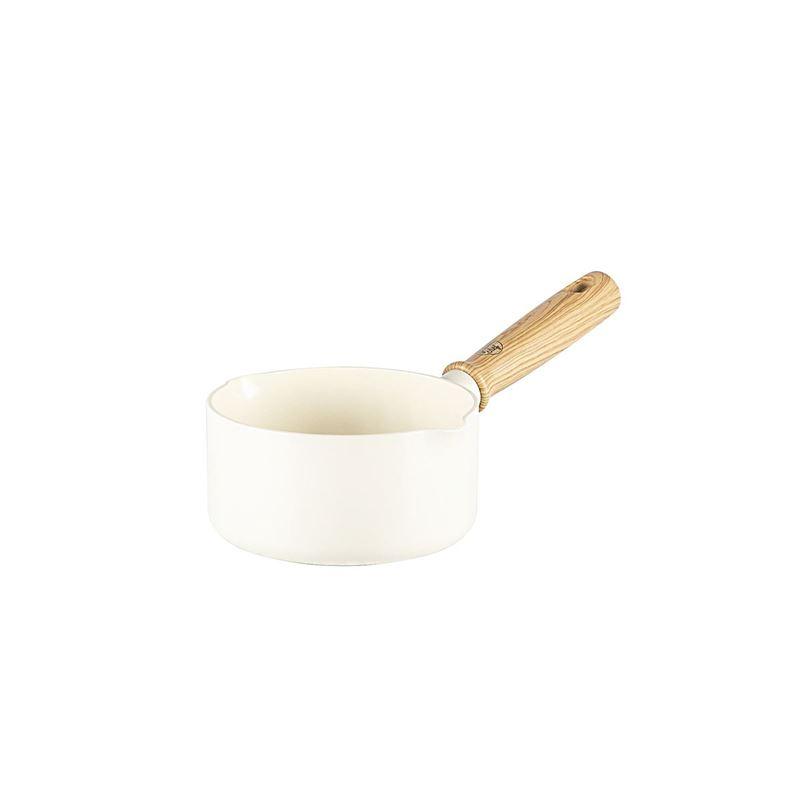 GreenChef – Vintage Cream White14cm Open Milk Pan 1.1Ltr