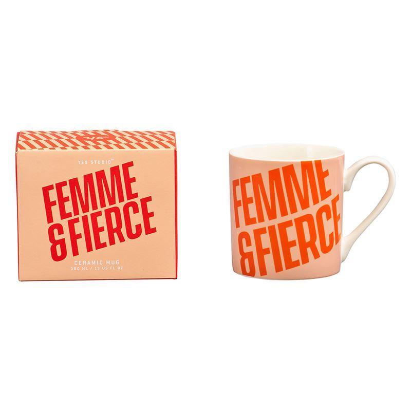 Yes Studio – Ceramic Mug 380ml Femme & Fierce