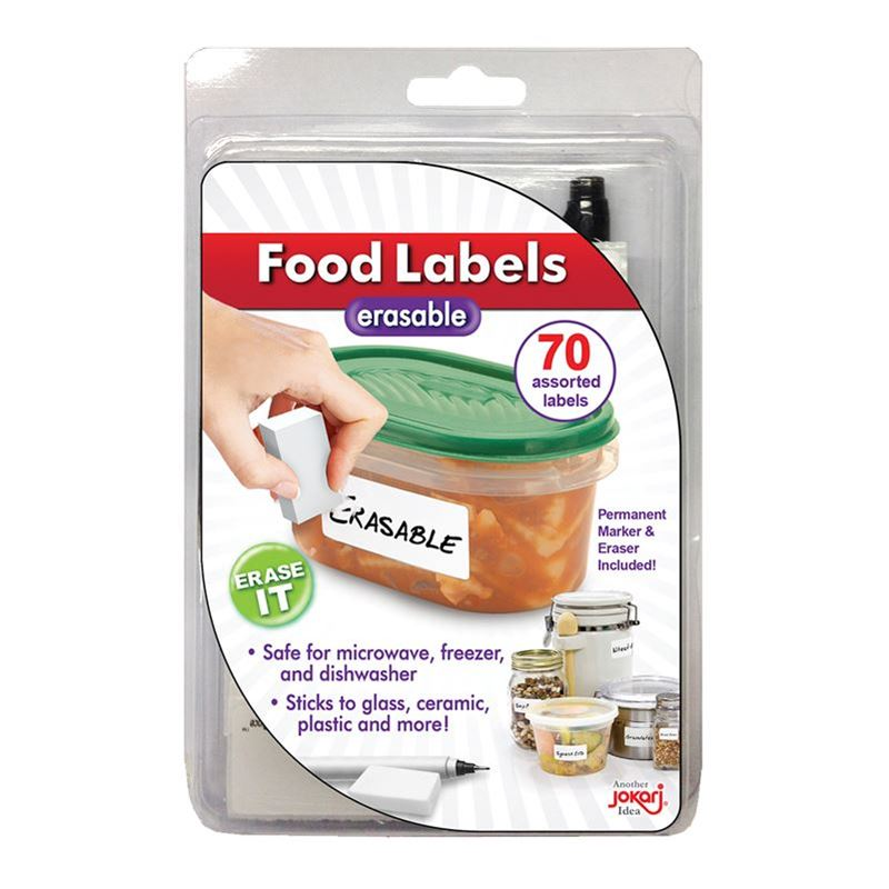 Jokari – Food Labels Erasable with Pen