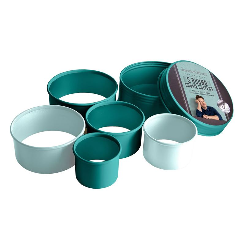 Jamie Oliver – Round Cookie Cutters Set of 5