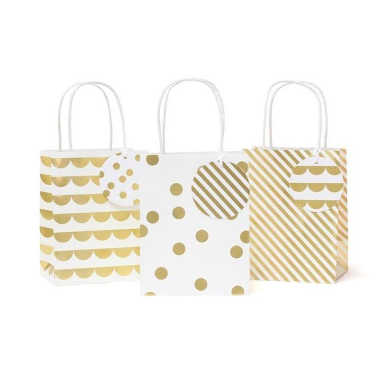 Vandoros – Party Gold Optic Set of 3 Gift Bag