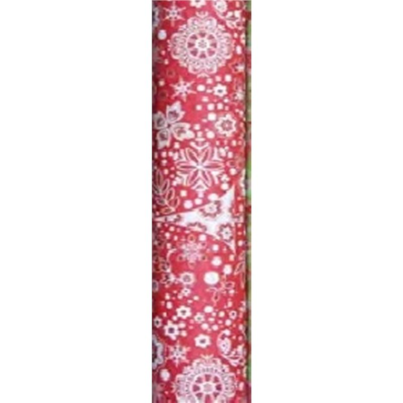 Vandoros – Wrapping Paper Flora Collection RED 3Mtrs