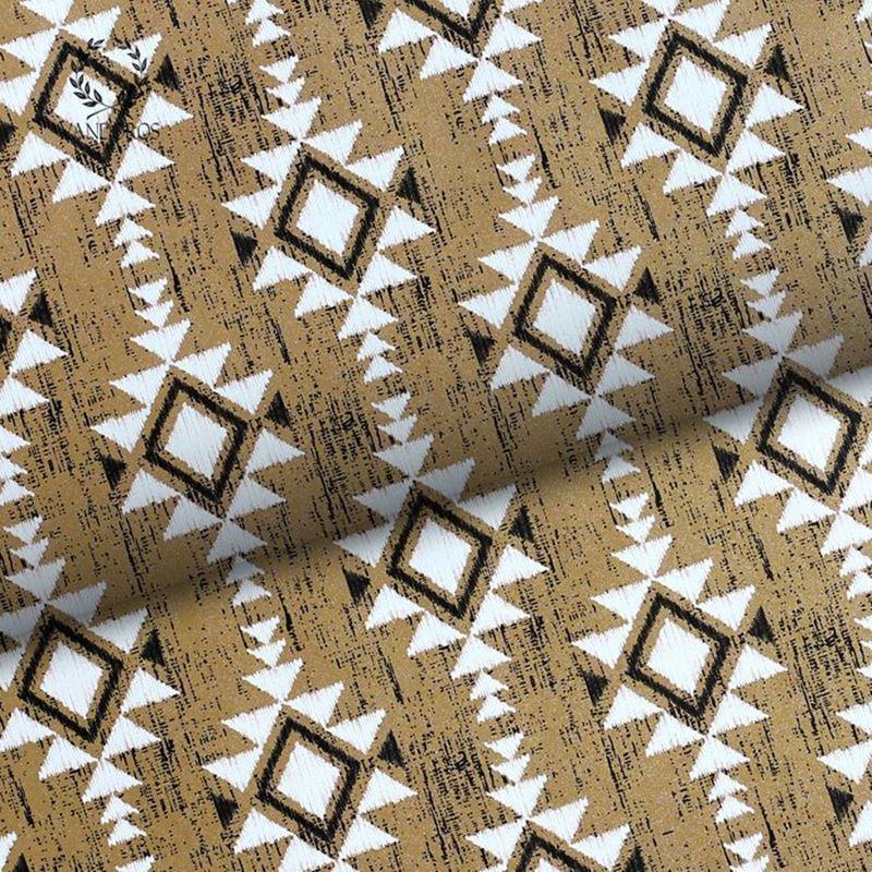 Vandoros – Wrapping Paper Najavo Black/Gold 3Mtrs