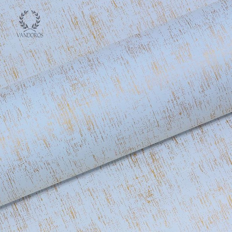 Vandoros – Wrapping Paper Impressions Etch Blue 3Mtrs