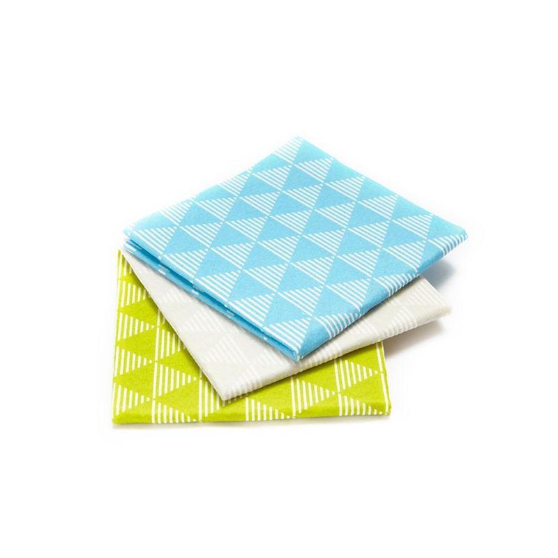 Full Circle – Dusting Cloths 36cm Pack of 3 Geo Design