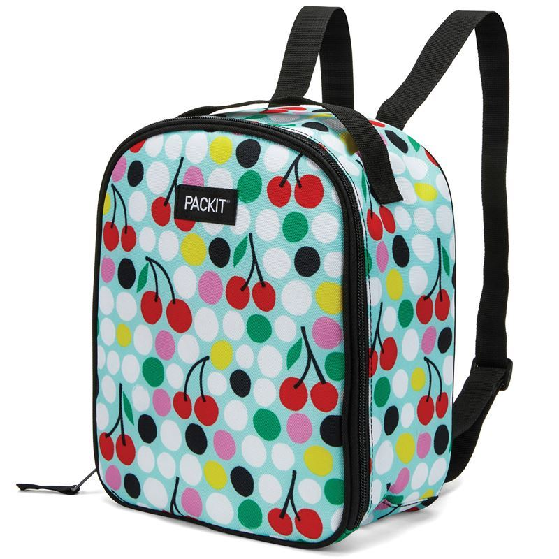Packit – Freezable Kids Backpack Lunch Bag Cherry Dots