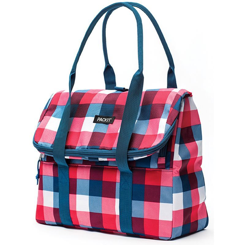Packit – Freezable Picnic Tote Bag Buffalo Checks