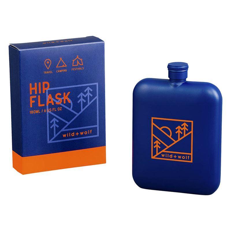 Wild + Wolf – Hip Flask