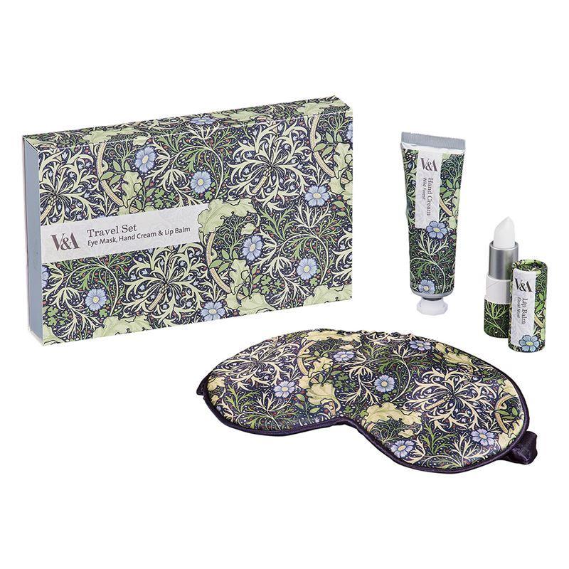 V & A – Travel Set Seaweed Print