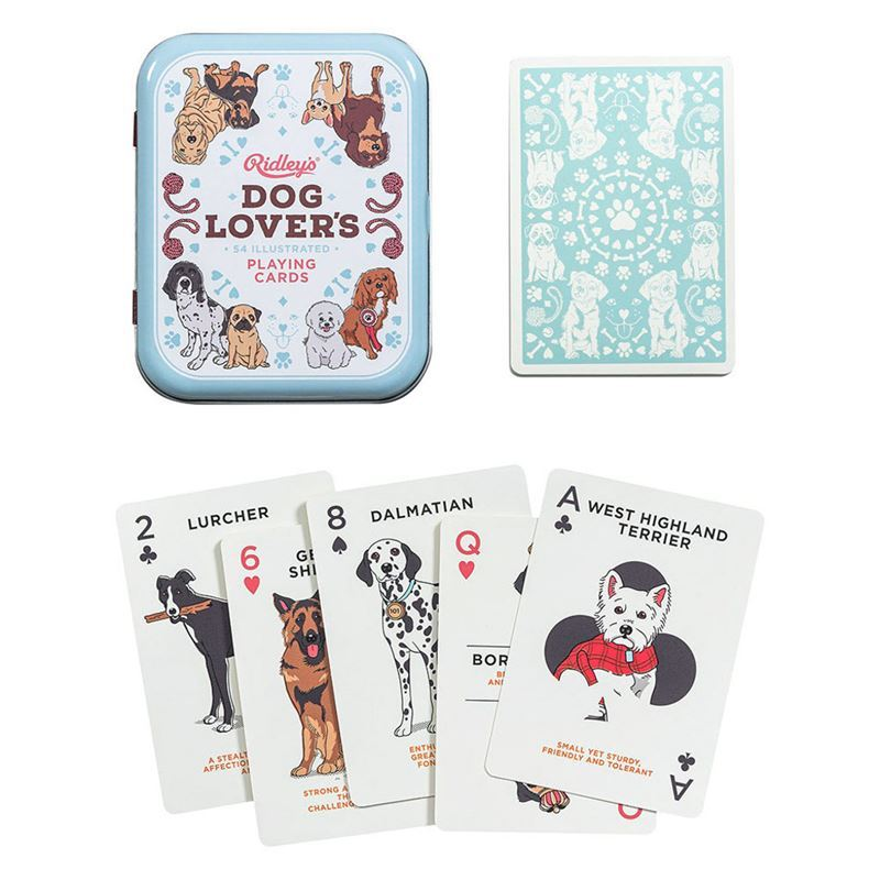 Ridley's Games – Dog Lover Playing Cards 1st Edition