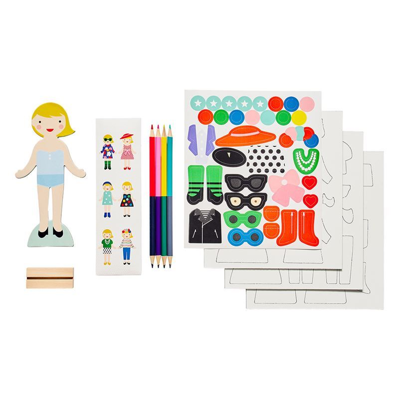 Petit Collage – Design your Own Fashion Magnetic Set