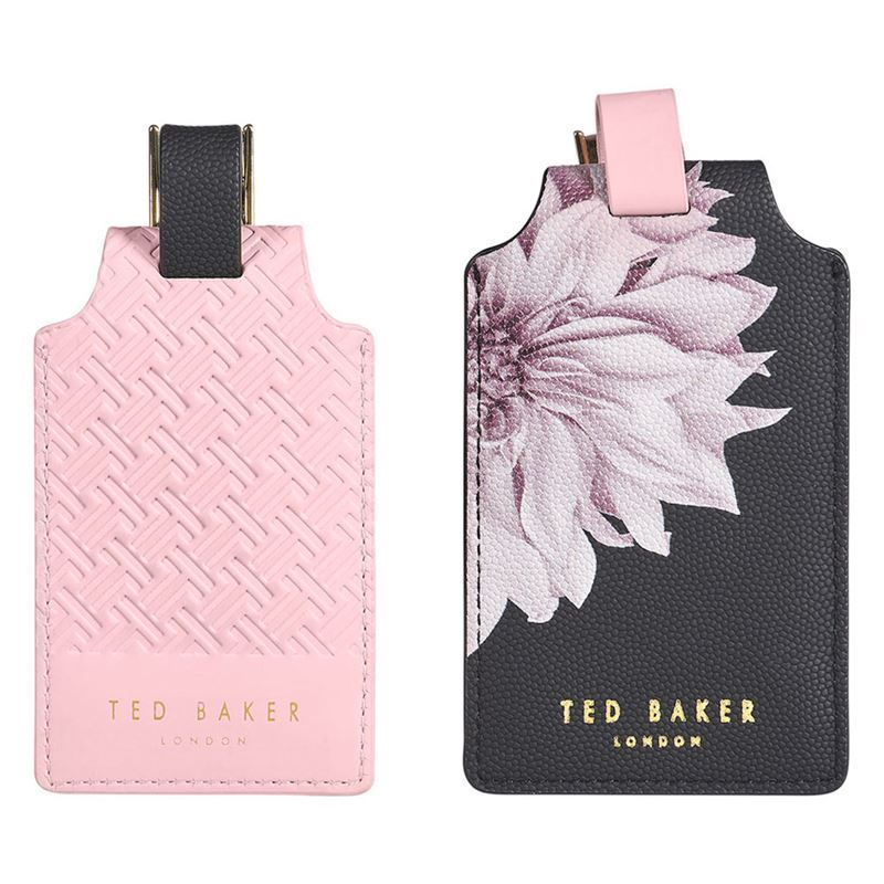 Ted Baker – Set Of 2 Luggage Tags – Clove