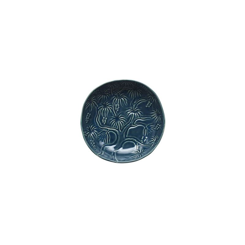 Tablekraft – Vilamoura Goa Blu Round Bowl Flared 21.5x5cm