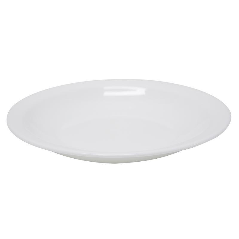 Bormioli Rocco – Performa Opal Toughened Glass Round Pasta/Soup Plate 23cm