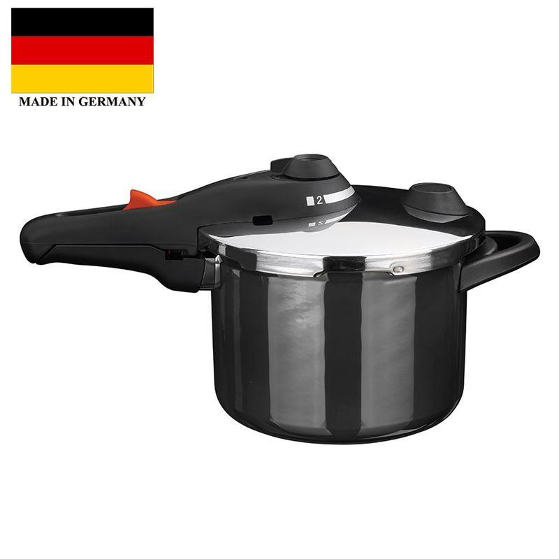 Kochstar – Enamel Pressure Cooker 22cm 6Ltr Black (Made in Germany)