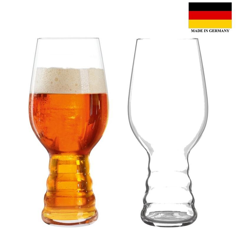 Spiegelau – Beer Classics – IPA Beer Glass 540ml Set of 2 (Made in Germany)