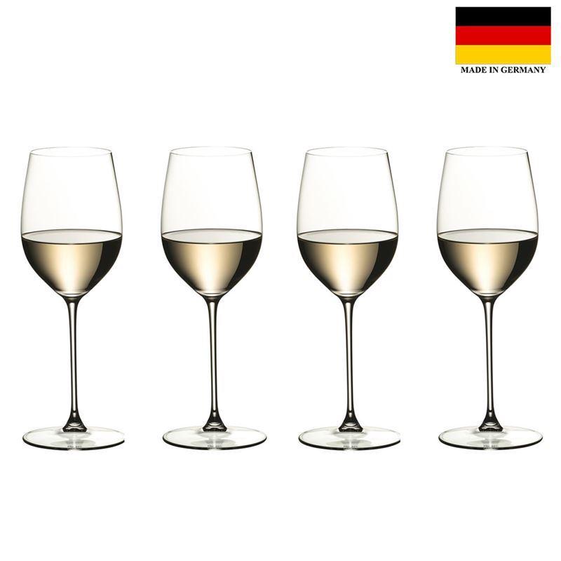 Riedel – Veritas Viognier/Chardonnay 370ml Set of 4 Anniversary 265 Years Set