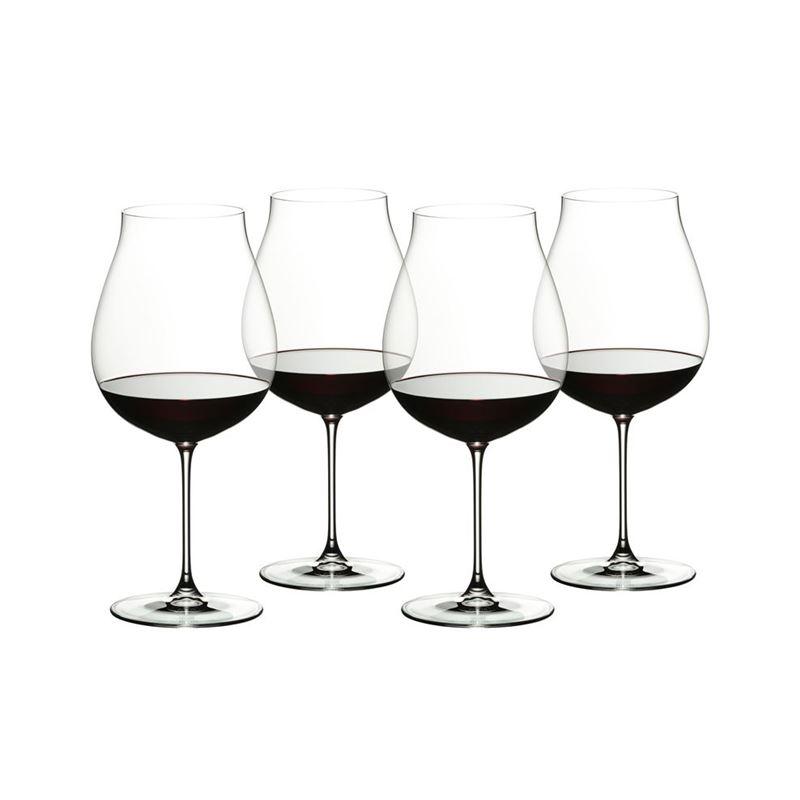 Riedel – Veritas New World Pinot Noir 800ml Set of 4 Anniversary 265 Years Set