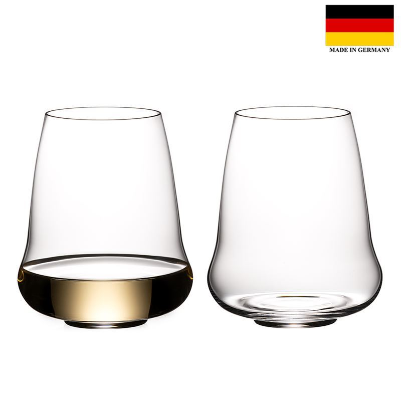 Riedel – Winewings Stemless Riesling/Champagne Set of 2 (Made in Germany)