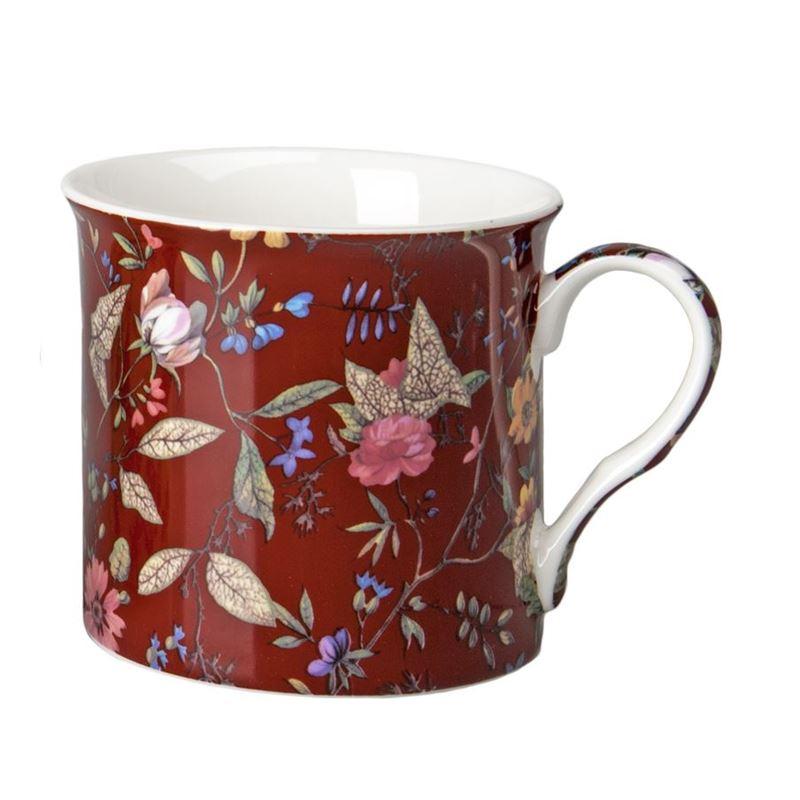 Nostalgic Ceramics – Fine China William Morris Kilburn Mug 250ml Red