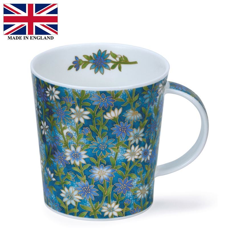 Dunoon – Lomond Bone China Mug 320ml Ophelia Blue (Made in England)