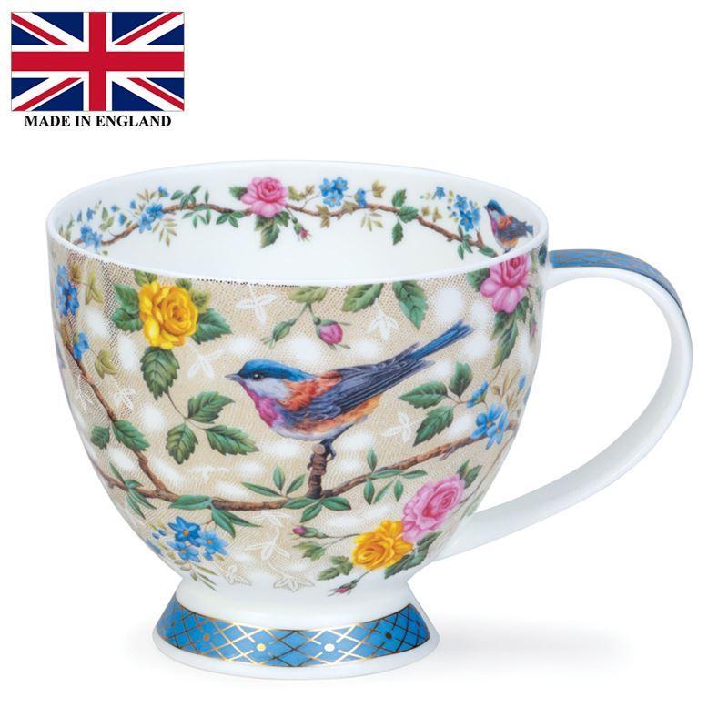 Dunoon – Skye Bone China Mug 420ml Satori Blue (Made in England)