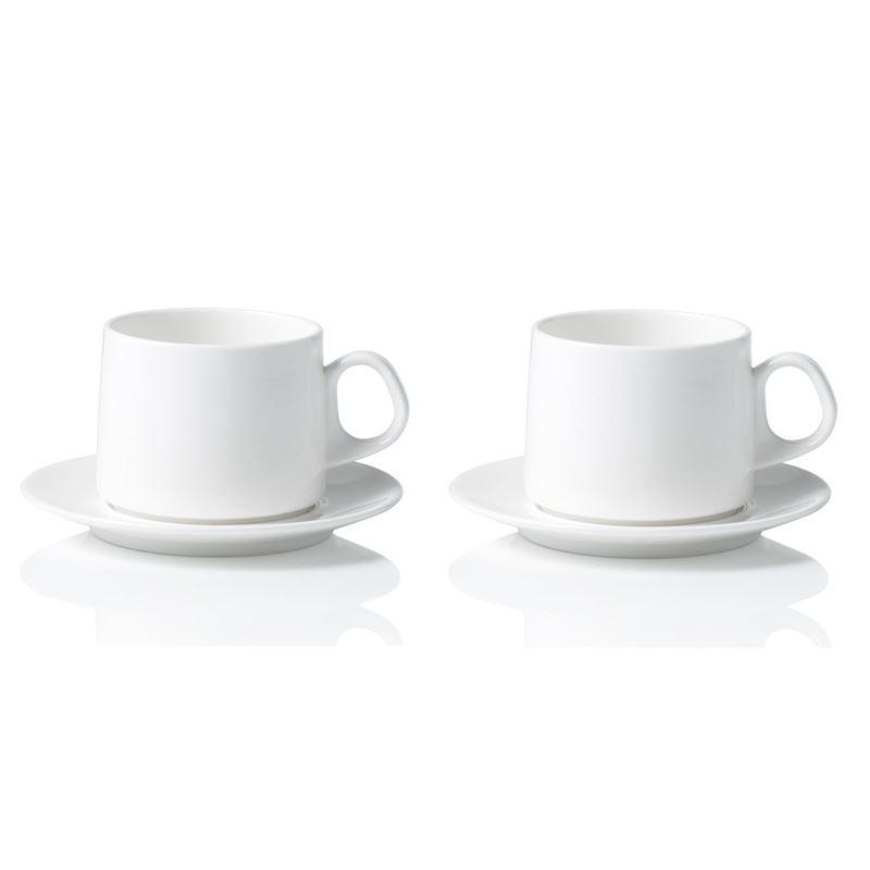 David Caon by Noritake – Cup & Saucer Set of 2