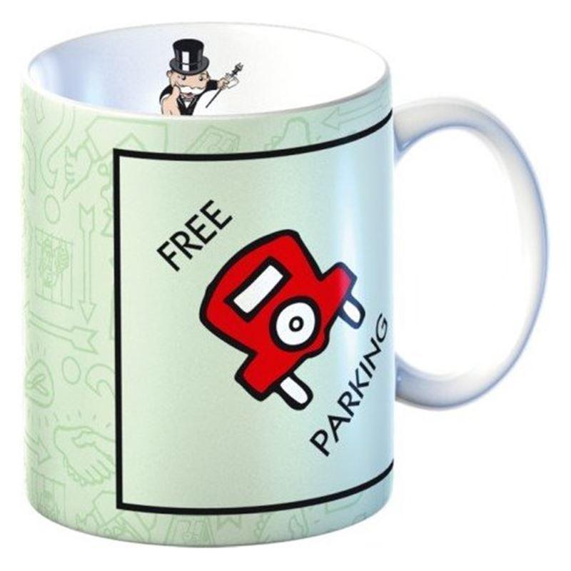 Monopoly – Mug in Gift Box Free Parking