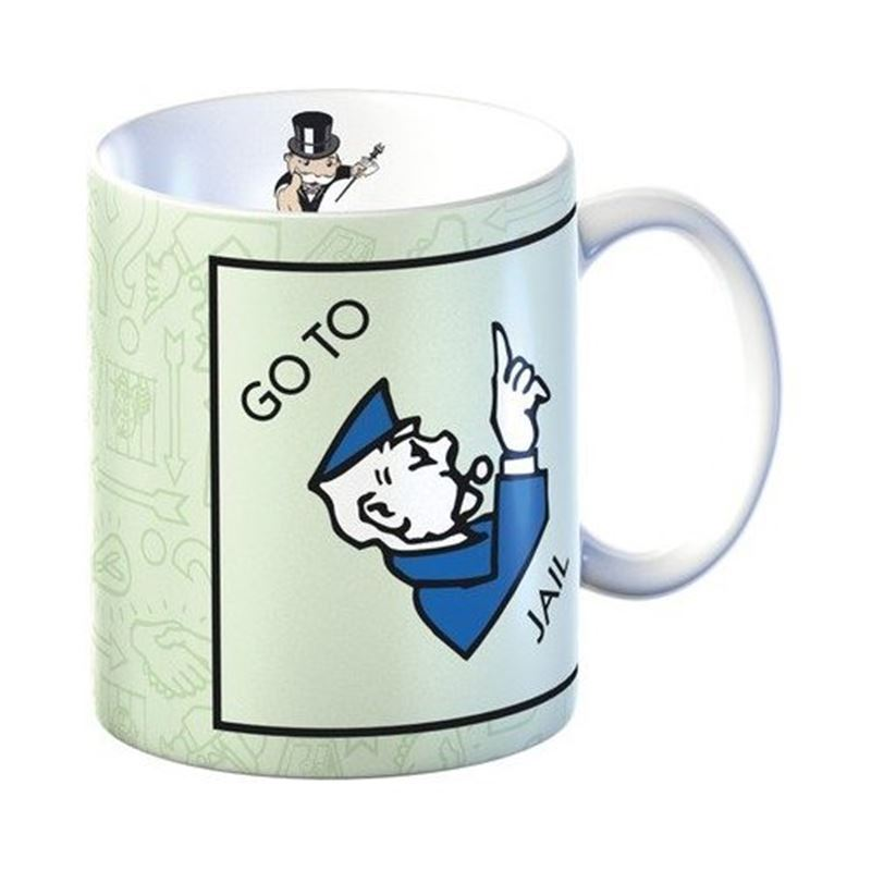 Monopoly – Mug in Gift Box Go Directly to Jail
