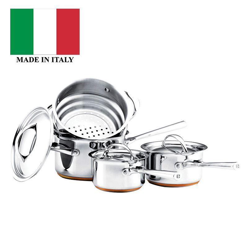 Essteele – Per Vita Cookware Set of 4 (Made in Italy)