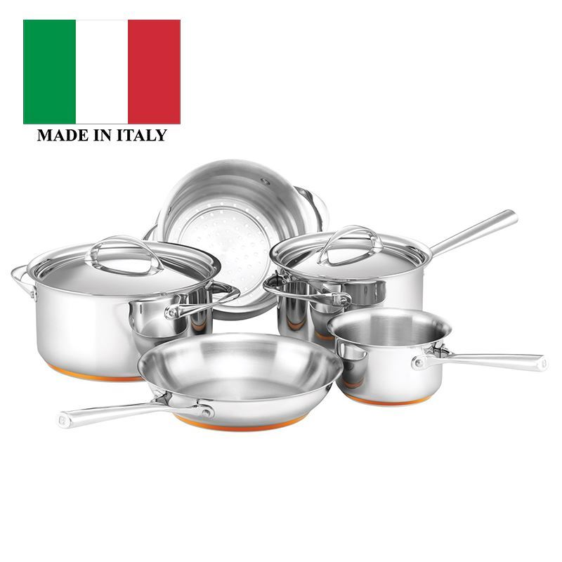 Essteele – Per Vita Cookware Set of 5 (Made in Italy)