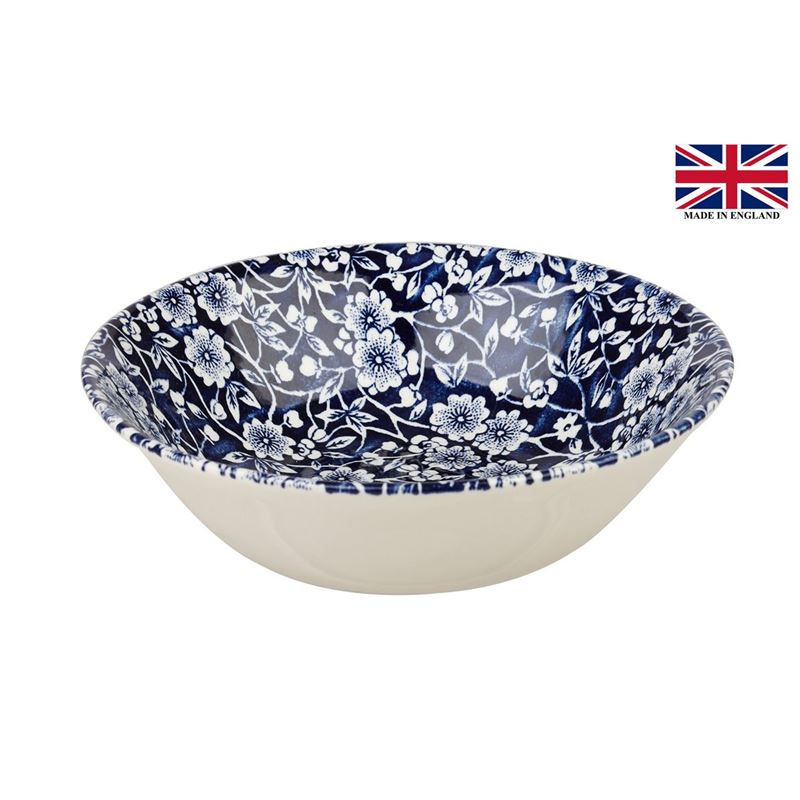 Queens by Churchill – Victorian Calico Oatmeal Bowl 15.5cm (Made in England)