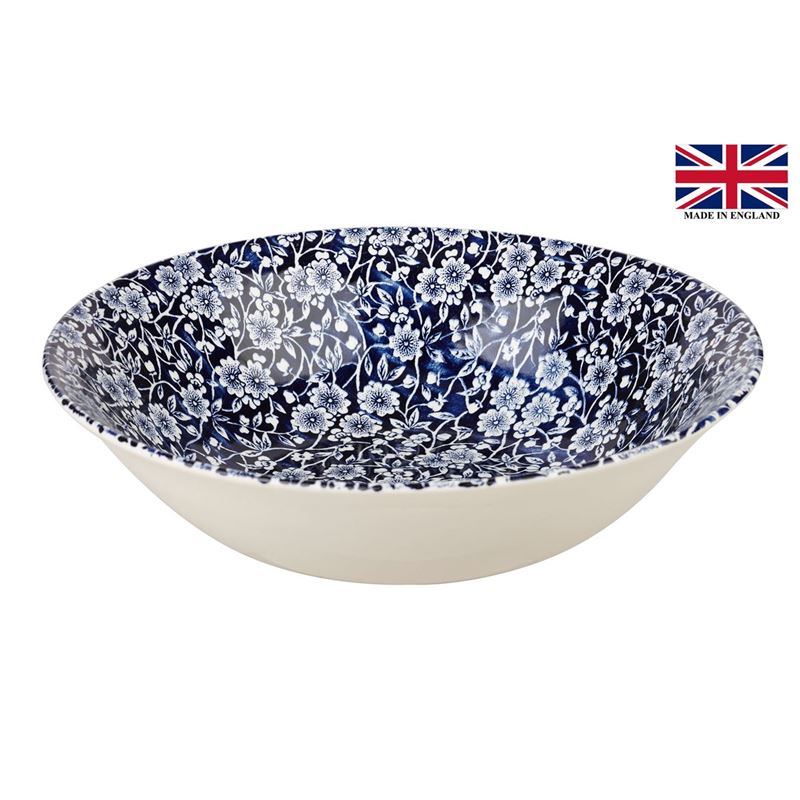 Queens by Churchill – Victorian Calico Salad Bowl 24cm (Made in England)