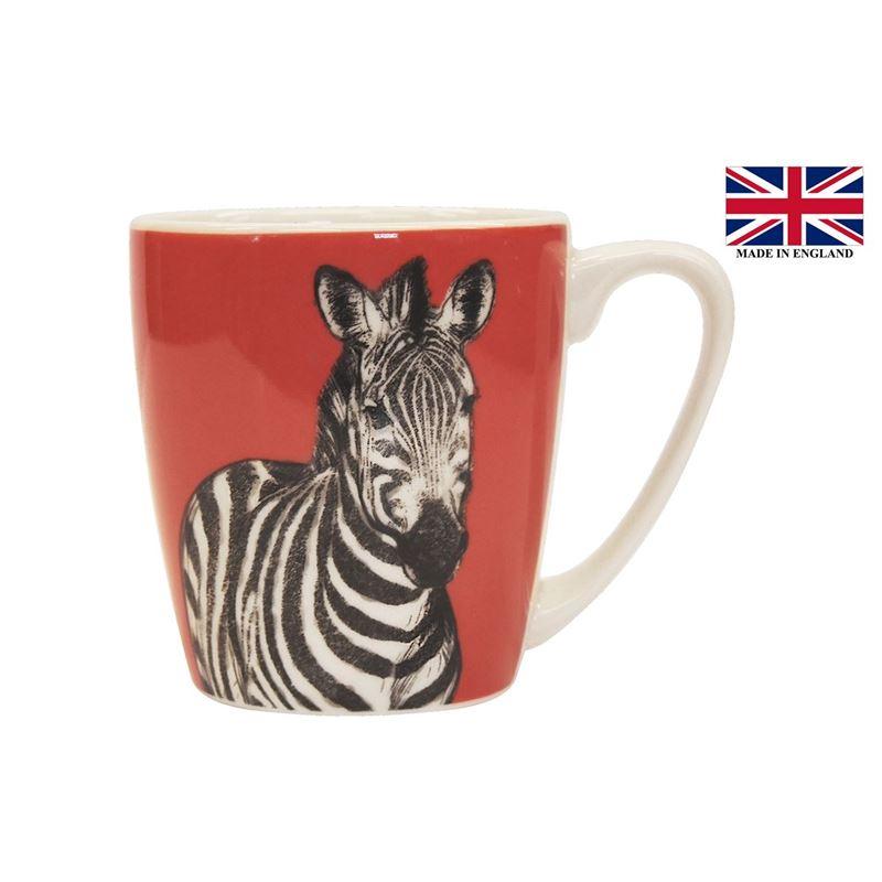 Queens by Churchill – The Kingdom Zebra Mug 300ml (Made in England)